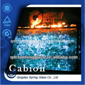2015 New Decorative Fire Pit Glass pictures & photos