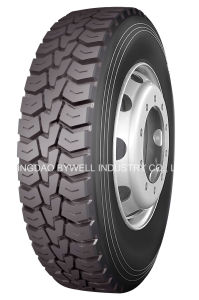 Longmarch Truck Tyres Mix Pattern for 13r22.5-18pr, 315/80r22.5-20pr (LM328)