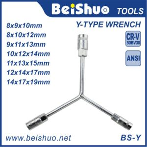 Y Type Shaped Outer Hex Wrench Spanner Socket Tool pictures & photos