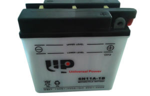 Dry Charged Motorcycle Battery 6n11A-1b 6V 11ah