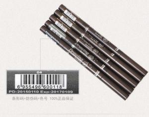 Korea Double-Headed Attached Brush Waterproof Eyebrow Pencil Maxdona New Triangle Autorotation Eye Brow Pen pictures & photos