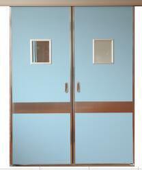 Hospital Hermatic Sliding Door/Hospital Door pictures & photos