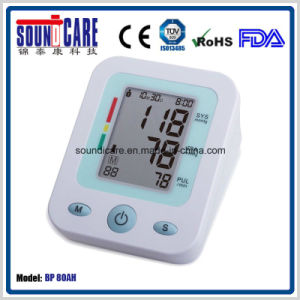Large LCD Digital Upper Arm Blood Pressure Monitor (BP 80AH) with Who Indictor pictures & photos