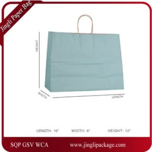 Kraft Gift Paper Bags with Handle, Shopping Paper Bag Merchandise Paper Bag pictures & photos