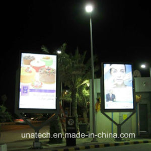 Street Pole Banner Printing Advert Media Outdoor LED Gasoline Station Light Box pictures & photos