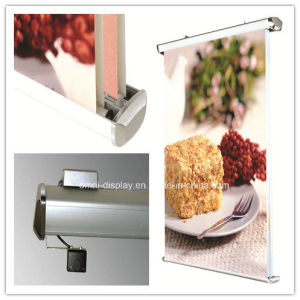 Hanging Scrolling Roll up Banner Stand (DW-H-7) pictures & photos
