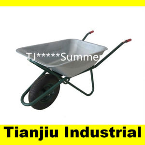 Galvanized Tray Construction Wheelbarrow Wb6422 for Russia Market pictures & photos
