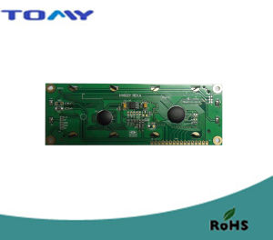 16X2 Va Liquid Crystal Module with Green LED Backlight pictures & photos