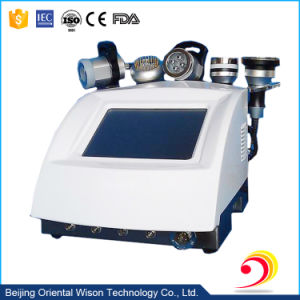 5 in 1 RF Vacuum Ultrasound Cavitation Body Slimming Machine pictures & photos
