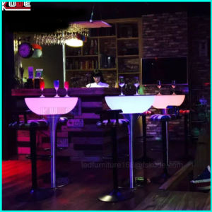 Toy Inspired Illuminated Collection LED Glowing Outdoor Furniture Table pictures & photos
