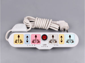 5 Gang Group Power Strip pictures & photos