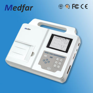 Medfar Mf-Xcm300 3-Channel ECG Electrocardiograph pictures & photos
