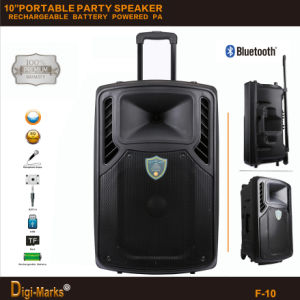 Rechargeable Battery PRO Park Loudspeaker Box Karaoke Bluetooth Portable Speaker pictures & photos