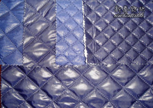Polyester Knitting Rib/Stop 400t with Quiting pictures & photos