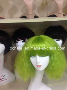 Beautiful Fancy Color Synthetic Wig pictures & photos