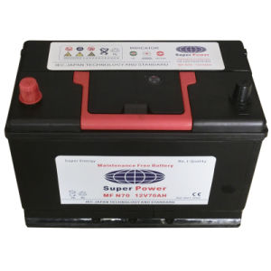 Smf Car Battery (MF N70 12V70AH)