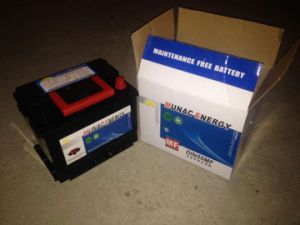 DIN55530mf 12V55ah Maintenance Free Car Battery pictures & photos