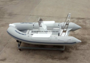 Aqualand 14feet Rigid Inflatable Fishing Boat /Rib Boat (RIB420B) pictures & photos