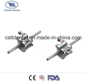 Orthodontic Self-Ligating Straight Wire Bracket of Mbt