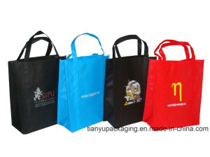 Promotion PP Non Woven Shopping Eco Bag with Print Logo pictures & photos