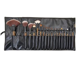 18PCS Professional Makeup Cosmetic Brush with Brown Synthetic Hair pictures & photos
