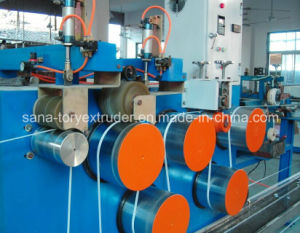Low Noise Plastic PP Packing Belt Extruder Machine pictures & photos