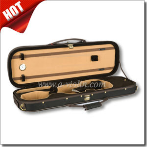 High Density Foam Oval Shaped Deluxe Light Violin Case (CSV051) pictures & photos
