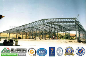 Prefabricated Sandwich Panel Steel Structure Workshop pictures & photos