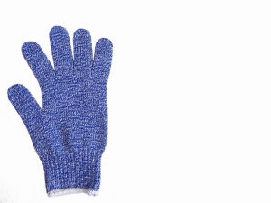 10g Anti-Cut Steel Yarn Glove pictures & photos