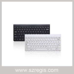 2.4G Chocolate Keypad Computer Keyboard Black/White Color pictures & photos