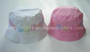 Child Fashion Floral Cotton Hat (DH-LH61623) pictures & photos