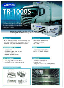 High Quality Refrigeration Unit Tr-1000s for Large Storage Volume Type pictures & photos
