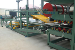 Metal Insulation Sandwich Panel Production Line