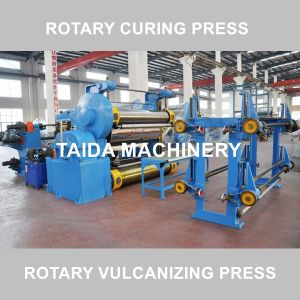 Drum Type Rubber Sheet Belt Rotary Vulcanizing Press Curing Press Vulcanizer Machine pictures & photos