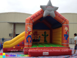 New Design Inflatable Star Bouncer with Best Quality pictures & photos