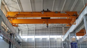 Double Girder Overhead Travelling Crane with Hoist pictures & photos