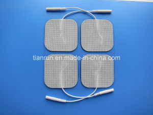 Tens Electrode, Square Shape, 50*50mm, Wired pictures & photos