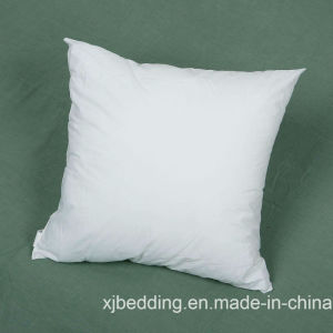 Pure Cotton Fabric Hollow Fiber Filled Cushion Pad pictures & photos