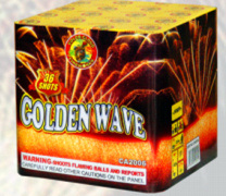 36s Golden Wave Christmas Celebration Cakes Fireworks pictures & photos
