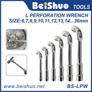 L Perforation Wrench with Hole for Car Repairing pictures & photos