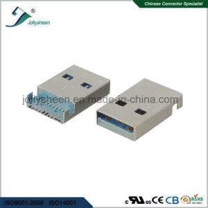 USB3.0 a/Male SMT at Bottom of PCB Type  Connector pictures & photos