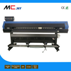 10FT Eco Solvent Digital Flex Inkjet Printer Machine with 2 Printheads of Epson Tx800 for Banner pictures & photos