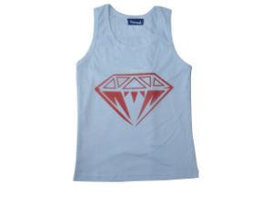 Diamond Tank Top 100% Cotton 140GSM Printed