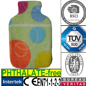 CE Coral Hot Water Bottle Cover
