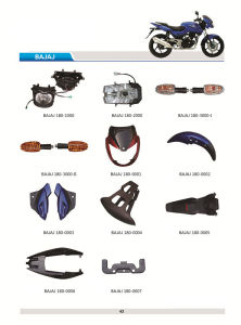 Bajaj Pulsar Motorcycle Body Plastic Cover Headlight pictures & photos