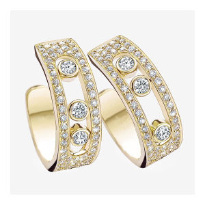 Fashion Jewelry 925 Silver Move Diamond Jewelry Micro Set pictures & photos