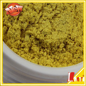 Gold Synthetic Cosmetic Bulk Pearlescent Pigment pictures & photos