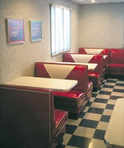 1950s Style Diner Customized Restaurant Furniture Set pictures & photos