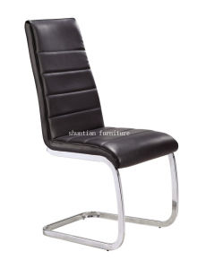 (SY-071) American Style Black Square PU Leather Dining Chair