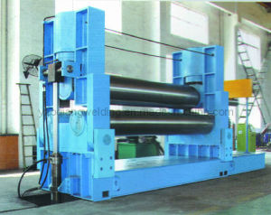 Hydraulic Three-Roller Plate Rolling Machine pictures & photos